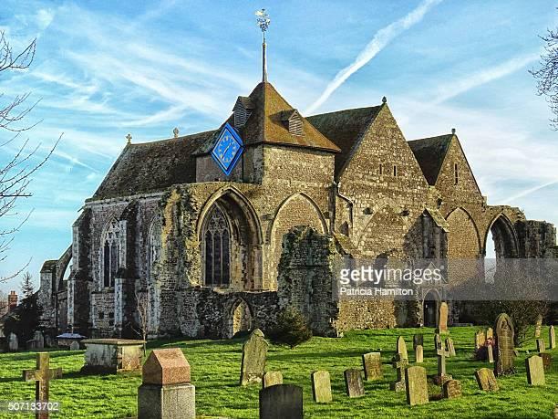 st thomas the martyr, winchelsea - イーストサセックス ストックフォトと画像
