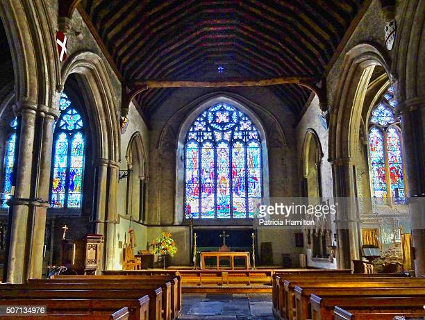 st thomas the martyr, winchelsea - church stock pictures, royalty-free photos & images