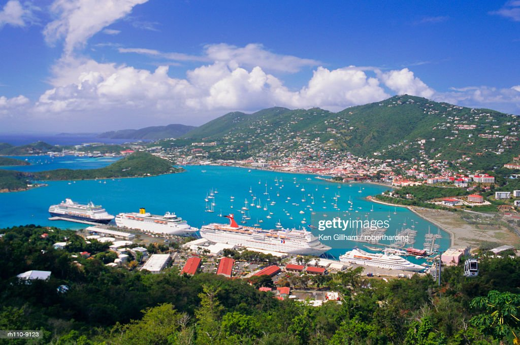 St. Thomas, U.S. Virgin Islands, Caribbean, West Indies : Foto de stock