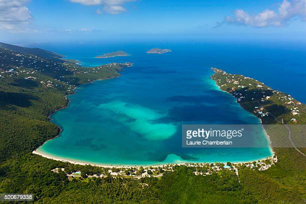 st. thomas us virgin islands - magens bay stock photos and pictures
