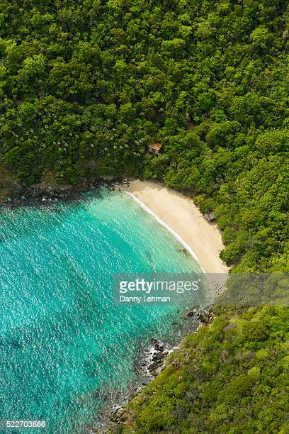 st. thomas, u.s. virgin islands - magens bay stock photos and pictures
