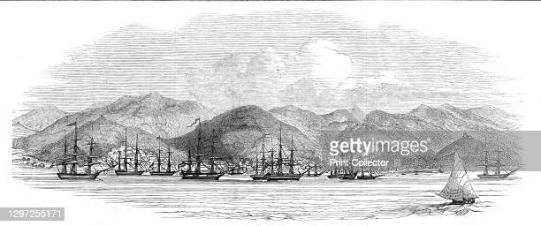 St Thomas's West Indies, from Weight's Wharf, 1844. 'The New York American publishes an extract of a letter dated from this island, April 14, which...