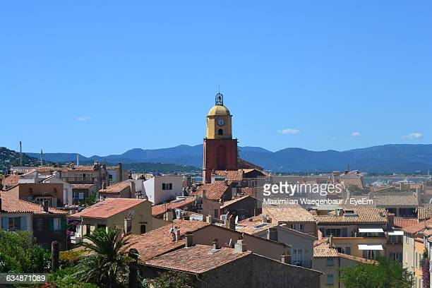 St Tropez Residential District Against Sky