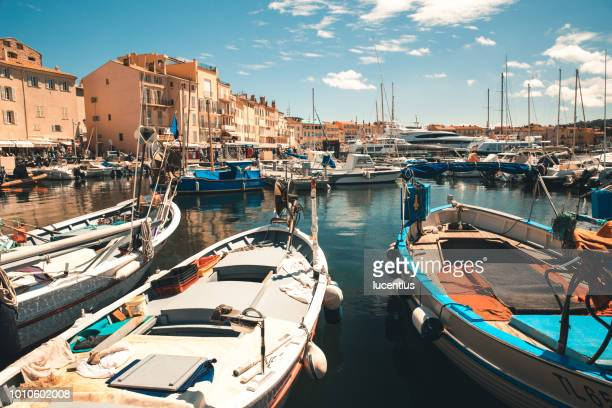 st tropez summer, provence, france - st tropez stock pictures, royalty-free photos & images