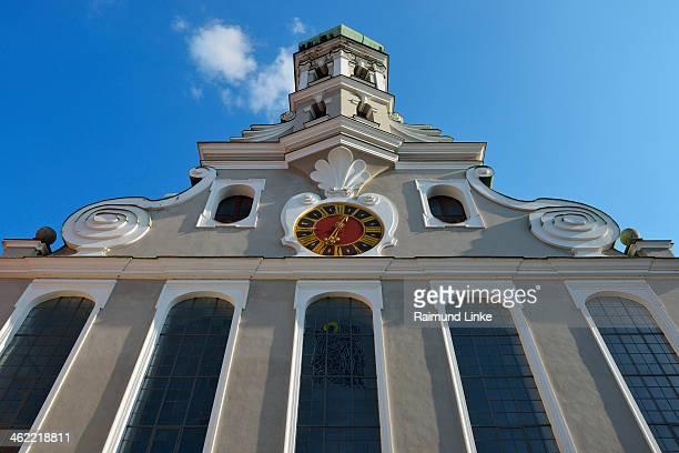 st. ulrich church - augsburg zwaben stockfoto's en -beelden