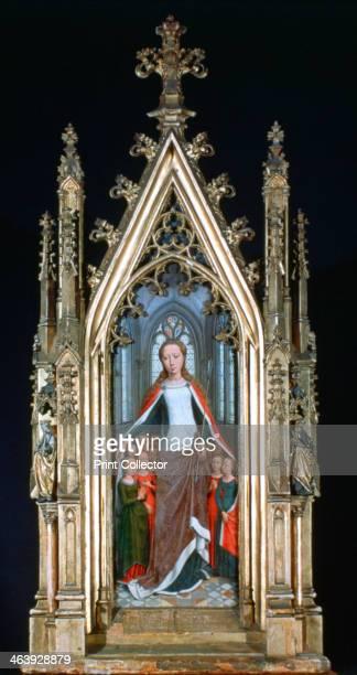 'St Ursula Shrine St Ursula and the Holy Virgins ' 1489 St Ursula Shrine Memling Museum SintJanshospitaal Bruges