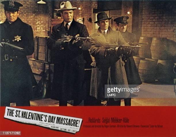 St. Valentine's Day Massacre, lobbycard, THE, Richard Bakalyan, Dick Miller, 1967.