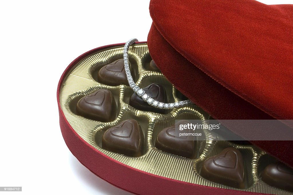 St. Valentine's Day surprise : Stock Photo