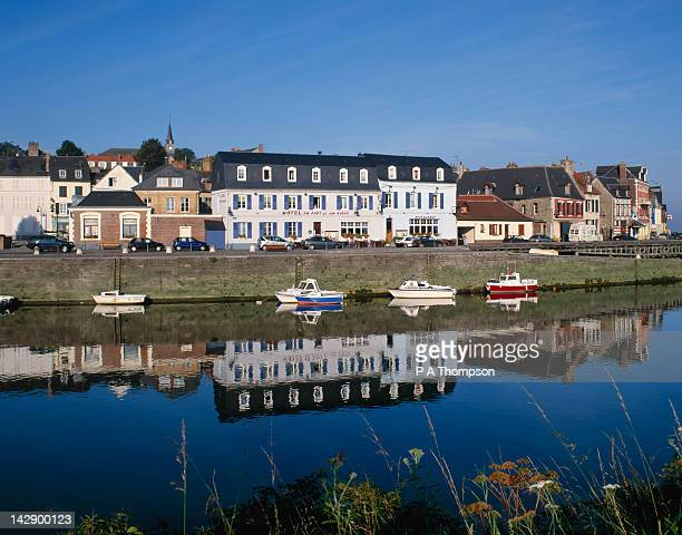 st valery sur somme, picardy, france - somme stock pictures, royalty-free photos & images