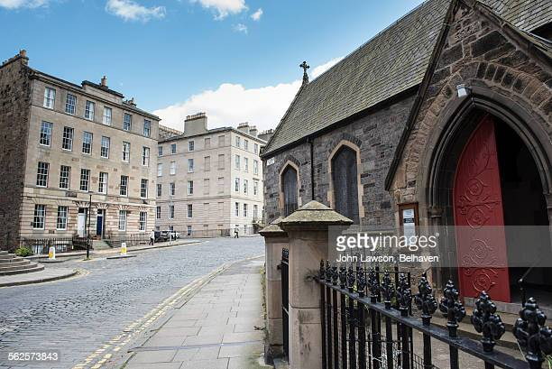 st vincent and st stephen streets, new town - new town edinburgh stock photos and pictures