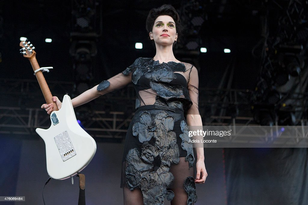St. Vincent at Governors Ball Music Festival - Day 1 at Randall's Island on June 5, 2015 in New York City.