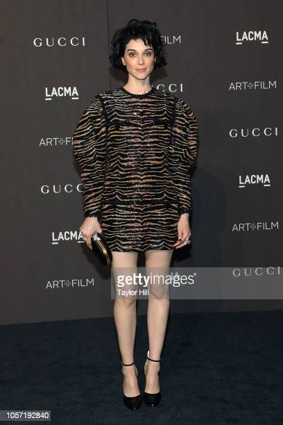 St Vincent attends the 2018 LACMA ArtFilm Gala at LACMA on November 3 2018 in Los Angeles California