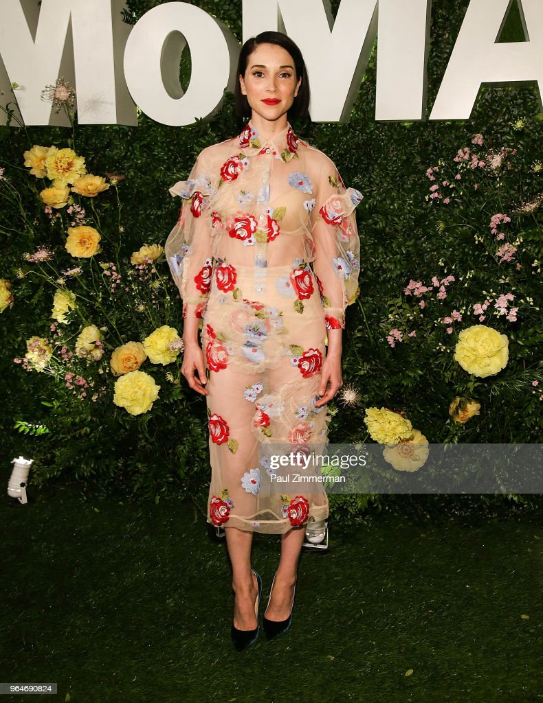 St. Vincent attends the 2018 MoMA Party In The Garden at Museum of Modern Art on May 31, 2018 in New York City.