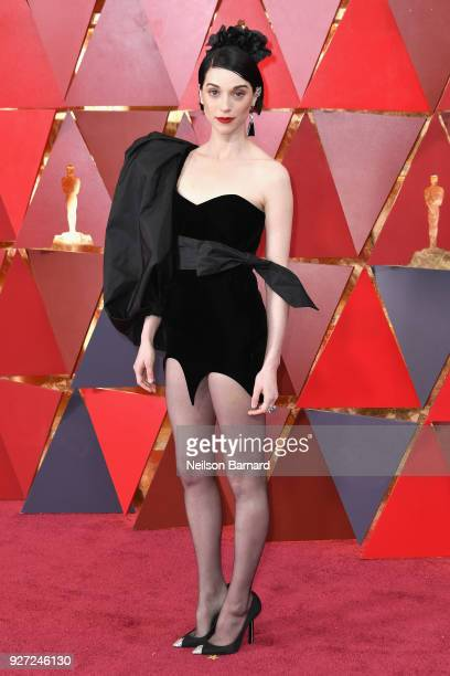 St Vincent attends the 90th Annual Academy Awards at Hollywood Highland Center on March 4 2018 in Hollywood California