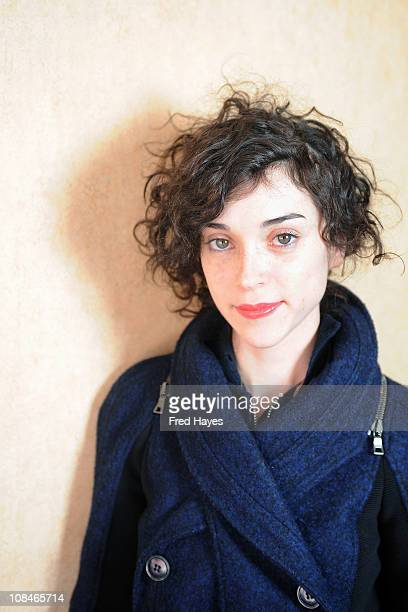 St Vincent attends the Music Cafe Day 7 at the Sundance ASCAP Music Cafe during the 2011 Sundance Film Festival on January 27 2011 in Park City Utah