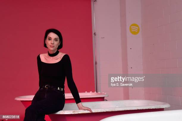 St Vincent attends the Special Escape Room Experience created by Spotify for St Vincent and their bggest fans to celebrate forthcoming album...