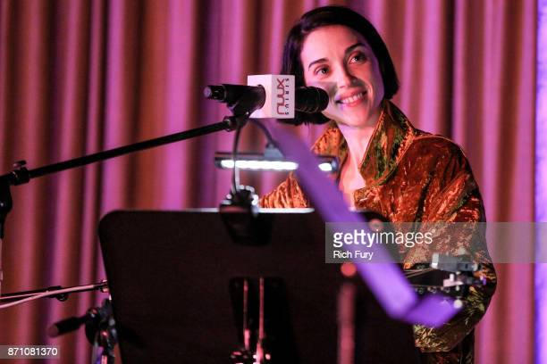 St Vincent performs for SiriusXM at The Village Studio on November 6 2017 in Los Angeles California
