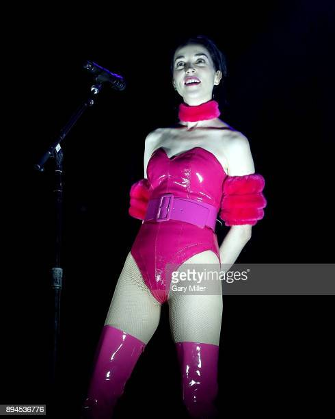 St Vincent performs in concert during Day For Night festival on December 17 2017 in Houston Texas
