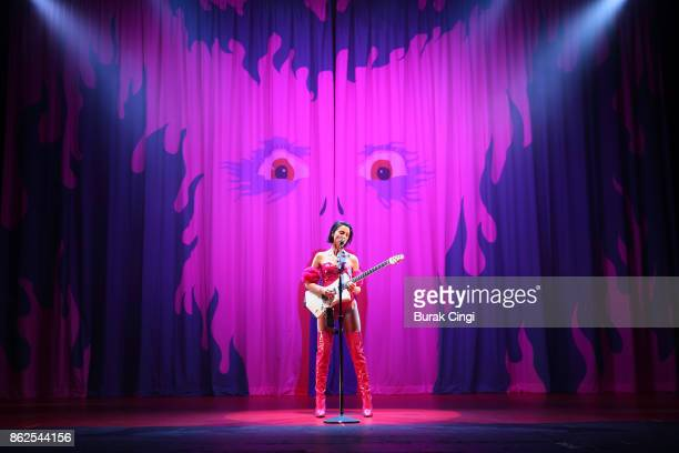 St Vincent performs live on stage at Brixton Academy on October 17 2017 in London England