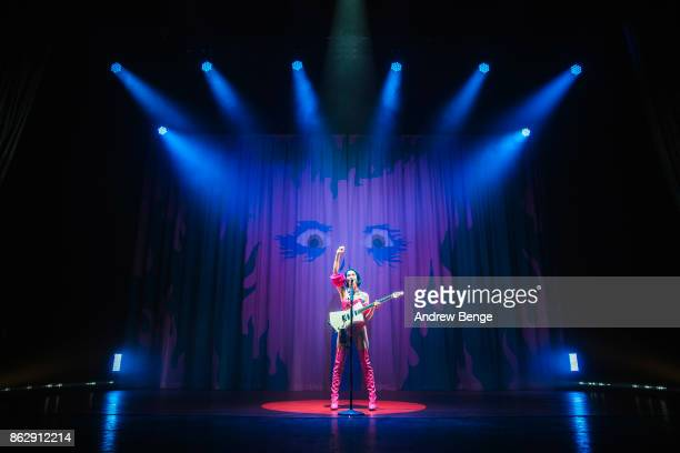 St Vincent performs live on stage at O2 Apollo Manchester on October 18 2017 in Manchester England