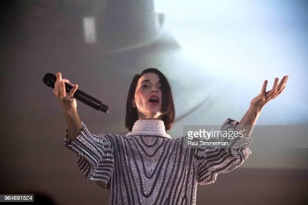 St. Vincent performs onstage at the 2018 MoMA Party In The Garden at Museum of Modern Art on May 31, 2018 in New York City.