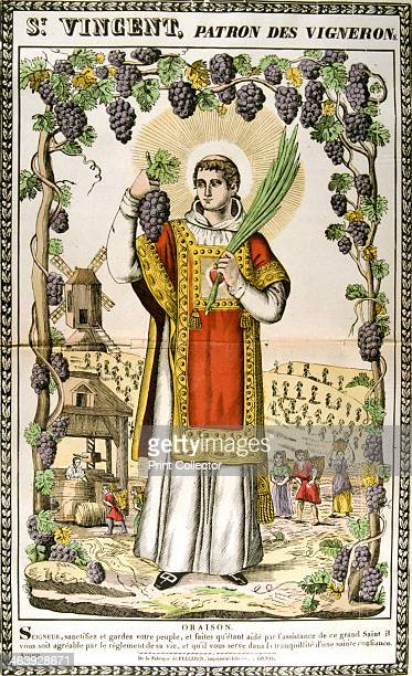 St Vincent Spanish Christian martyr 19th century A Christian deacon from Zaragoza Spain St Vincent was martyred in c304 during the persecutions of...
