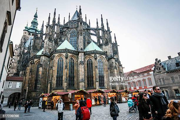 St Vitus Cathedral in Czech Republic
