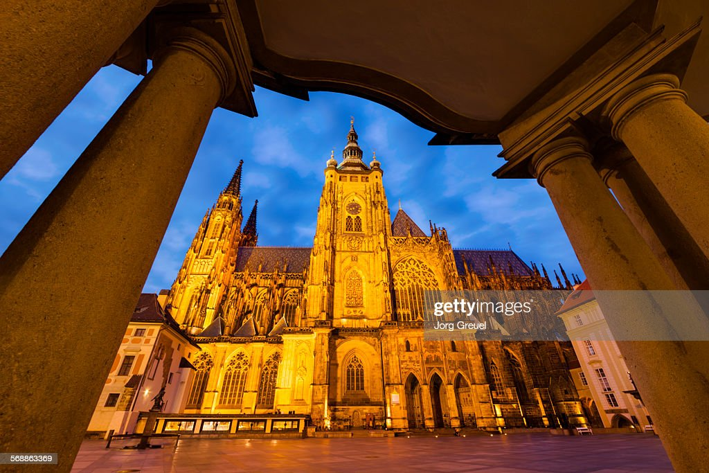 St. Vitus Cathedral : Stock Photo