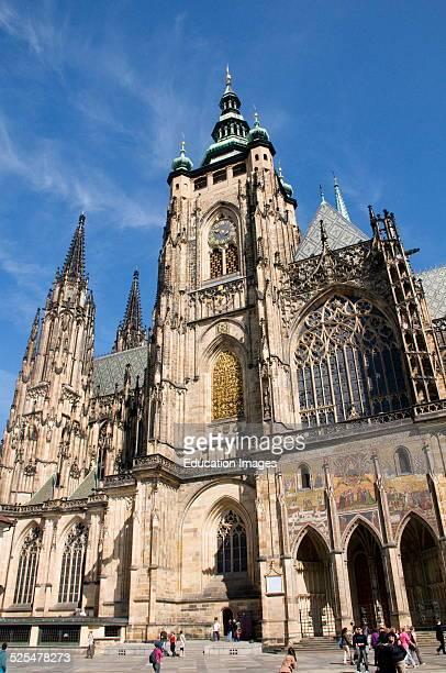 St. Vitus Cathedral, Prague Castle, Prague, Czech Republic.