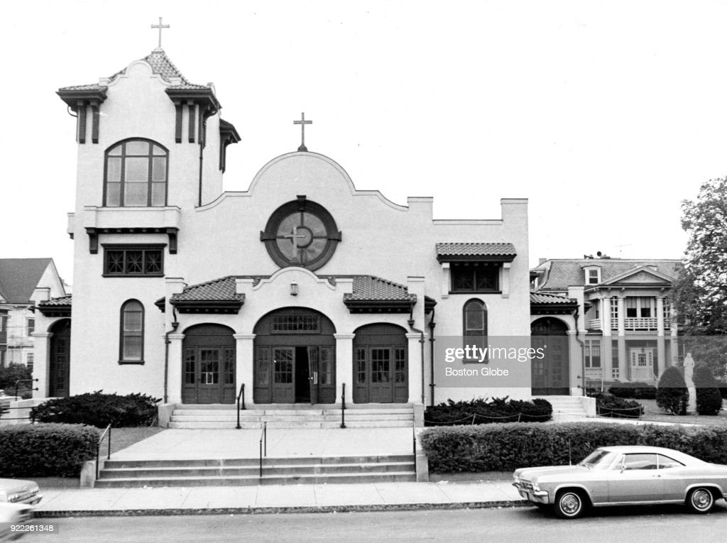 St. William's Church in the Dorchester neighborhood of Boston is pictured on Sep. 25, 1969.