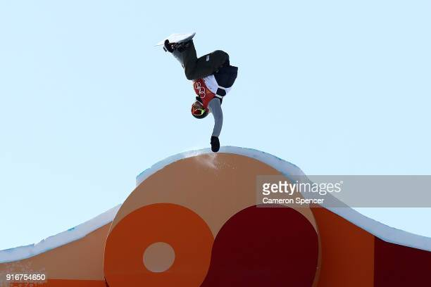 Staale Sandbech of Norway competes during the Snowboard Men's Slopestyle Final on day two of the PyeongChang 2018 Winter Olympic Games at Phoenix...