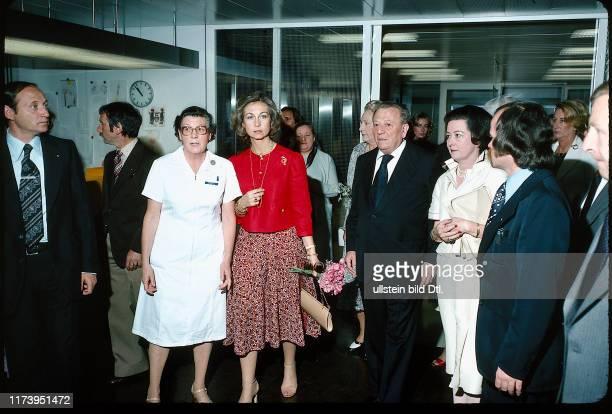 Staatsbesuch Juan Carlos und Sofia von Spanien 1979: Sofia im Inselspital