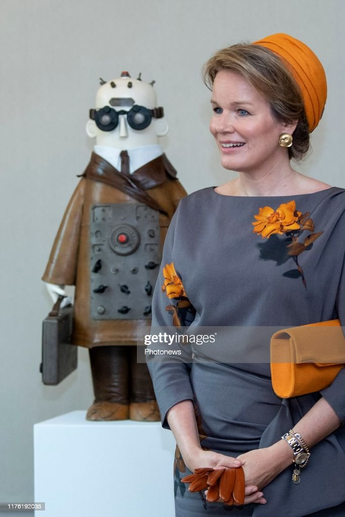 Philippe and Mathilde visit to Luxembourg 16/10 : News Photo