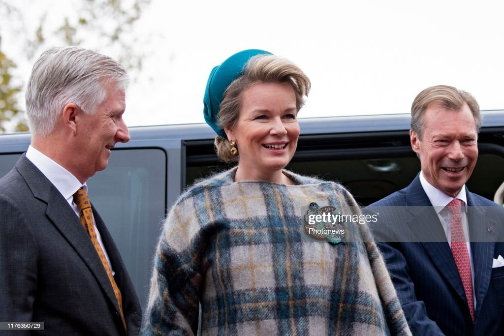 Philippe and Mathilde visit to Luxembourg 17/10 : News Photo
