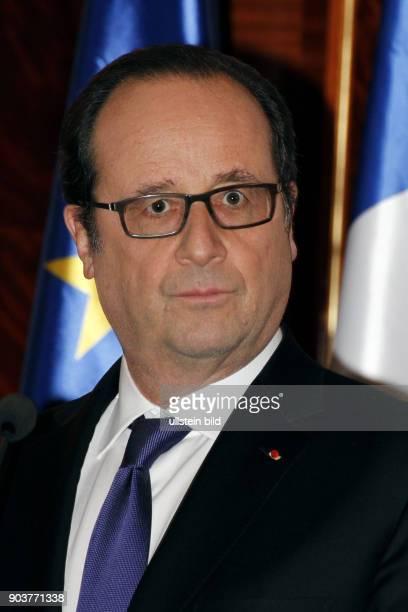 Staatspräsident Francois Hollande anlässlich seines Besuchs in Erbil