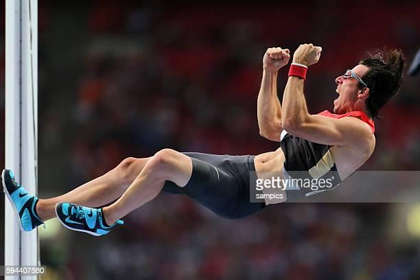 Stabhochsprung Pole Vault Final Men Malte Mohr GER Leichtathletik WM Weltmeisterschaft Moskau 2013 IAAF World Championships athletics moscow 2013...
