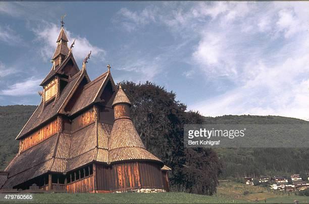 Stabkirche in Süd-Norwegen