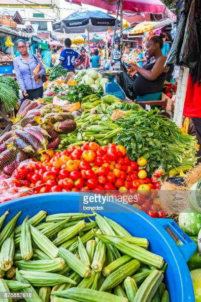 stabroek market in georgetown guyana - guyana stock pictures, royalty-free photos & images