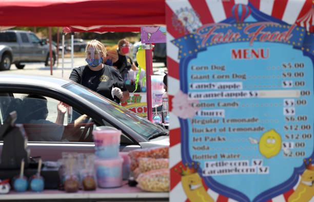 CA: California's Marin County Holds Drive Thru Food Fair