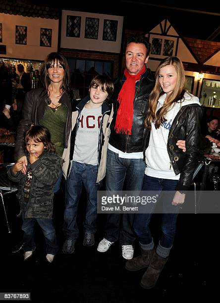 Stacey and Paul Young attend the launch party for Winter Wonderland in Hyde Park on November 20 2008 in London England