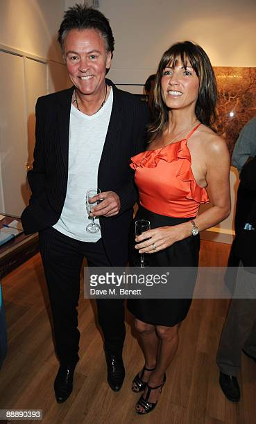 Stacey and Paul Young attend the Little Black Gallery Summer Party at the Little Black Gallery on July 7 2009 in London England