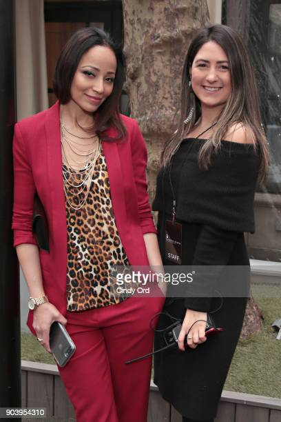 Stacey Anderson and Graceann Belgiorno attend the 60th GRAMMY Nominee Luncheon on January 11 2018 in New York City