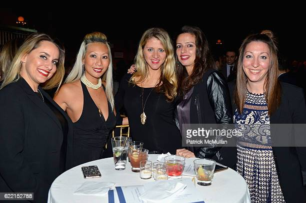 Stacey Artall Olivia Wong Denise Kurland Claudia Gomez and Ariana Kane attend Strolling Supper Lung Cancer Research Foundation's Fourteenth Annual...