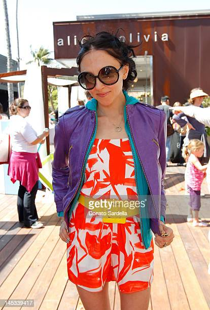 Stacey Bendet attends alice olivia By Stacey Bendet Hosts Look Up Yoga At The Malibu Lumberyard on May 26 2012 in Malibu California