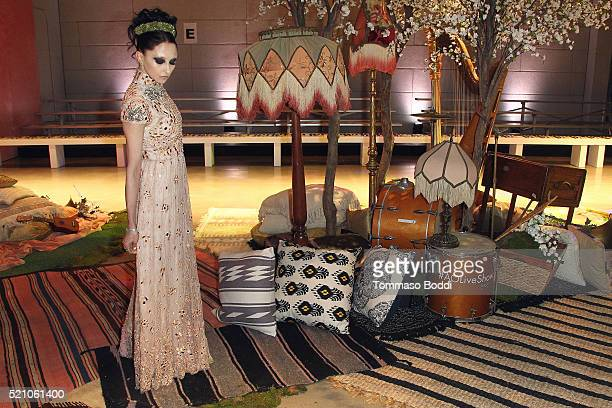 Stacey Bendet attends the alice + olivia By Stacey Bendet And Neiman Marcus Present See-Now-Buy-Now Runway Show at NeueHouse Los Angeles on April 13,...