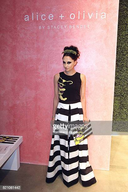 Stacey Bendet attends the alice olivia By Stacey Bendet And Neiman Marcus Present SeeNowBuyNow Runway Show at NeueHouse Los Angeles on April 13 2016...