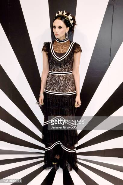 Stacey Bendet attends the alice + olivia SS19 Presentation Powered By Booking.com at Pier 59 Studios on September 11, 2018 in New York City.