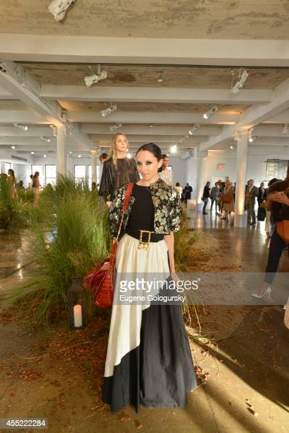 Stacey Bendet attends the Hanley Mellon Spring 2015 Collection at Hudson Mercantile on September 10, 2014 in New York City.