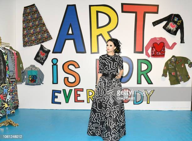 Stacey Bendet attends the Launch Of Keith Haring x alice + olivia at Highline Stages on November 13, 2018 in New York City.