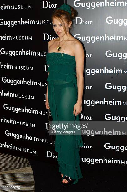 Stacey Bendet during Dior Sponsors the Solomon R. Guggenheim Museum's Young Collectors Council Artist's Ball Honoring Matthew Ritchie at Guggenheim...